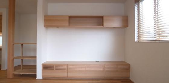 納品・施工事例〜造作家具TVボード〜